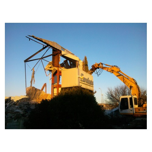 demolición estructuras metálicas madrid